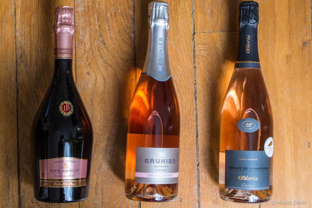 Crémants de Bourgogne noël