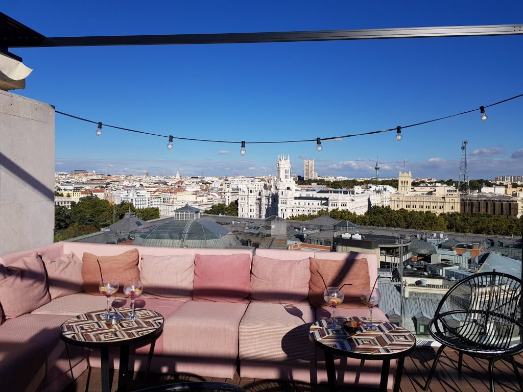 rooftop NH Collection Suecia Madrid