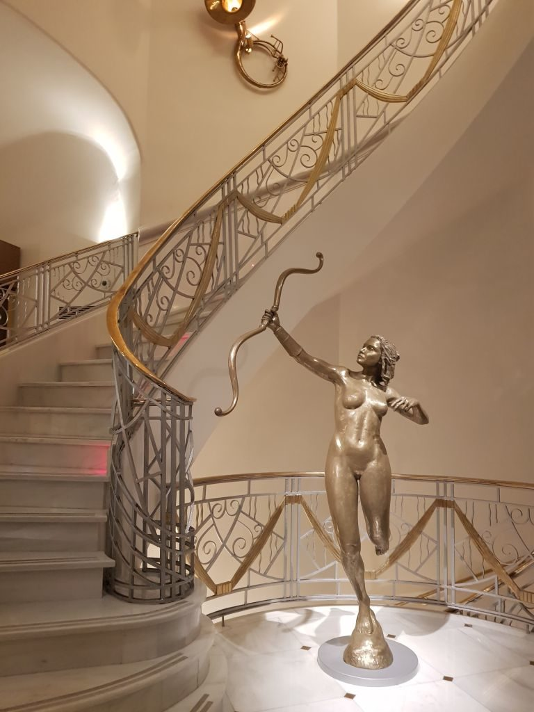 escalier Hielo y Carbon Madrid