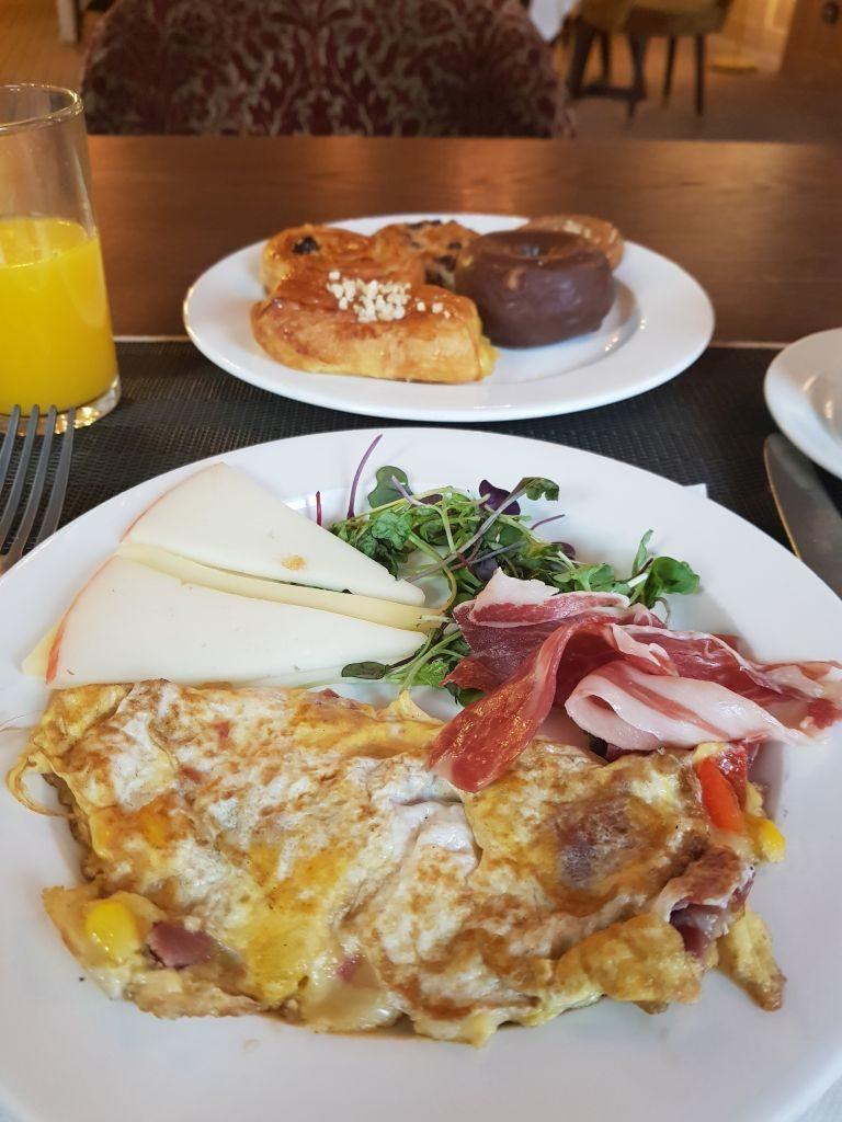 petit déjeuner NH Collection Suecia Madrid