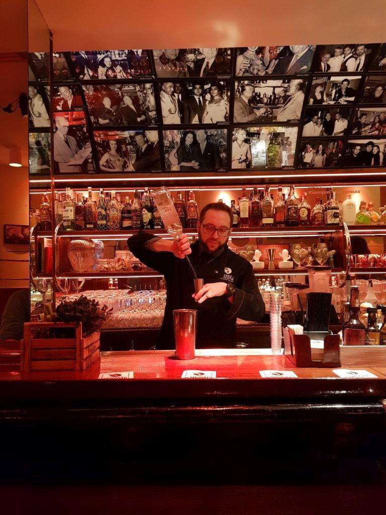 barman Museo Chicote Madrid