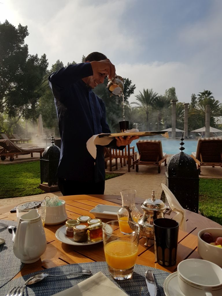 Petit déjeuner Palace Es Saadi Marrakech Resort