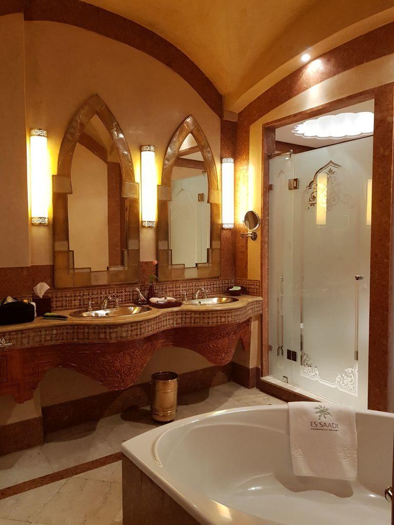 salle de bain Palace Es Saadi Marrakech Resor