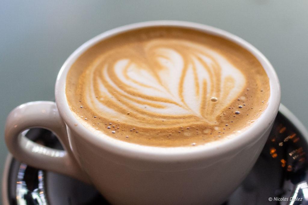 Latte art Arts Café Montréal