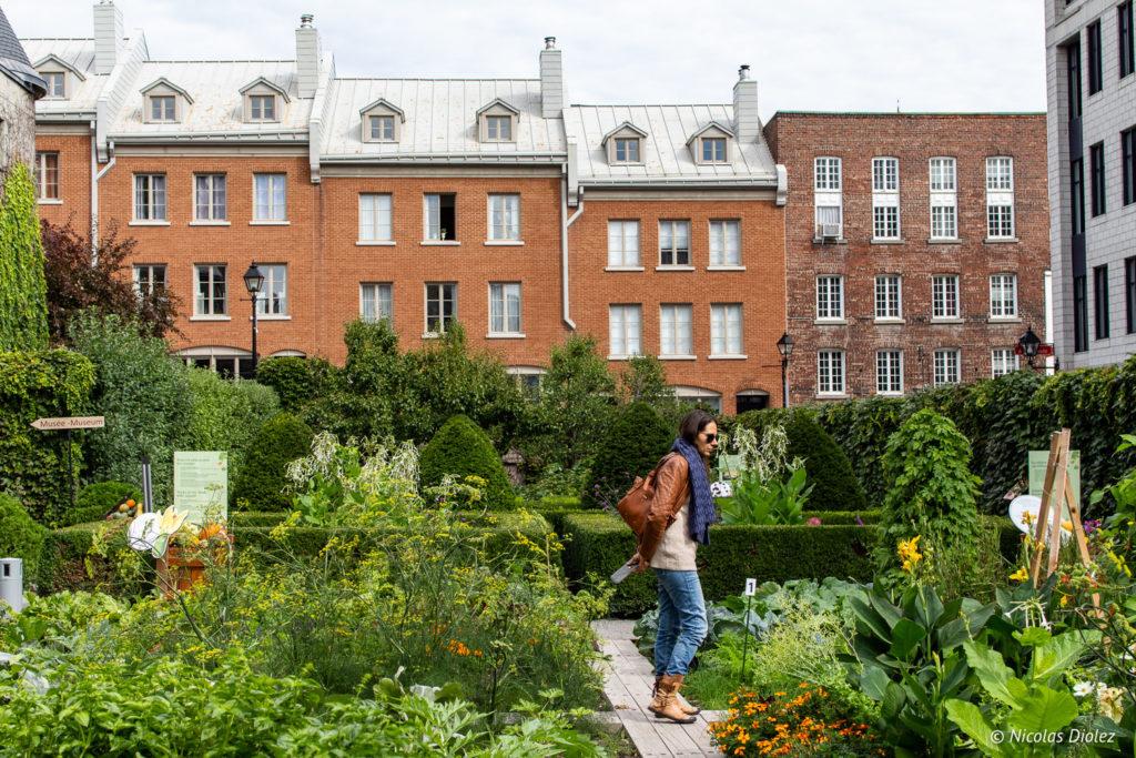 jardin Château Ramezay Montréal