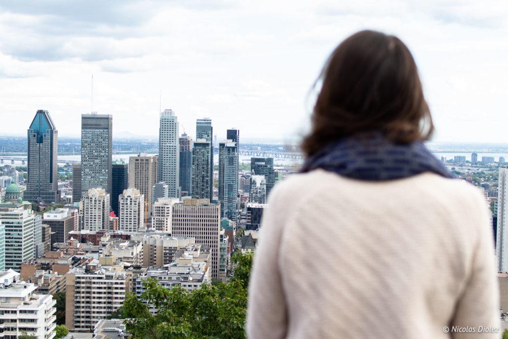 vue Montréal Mont Royal Melle Bon Plan
