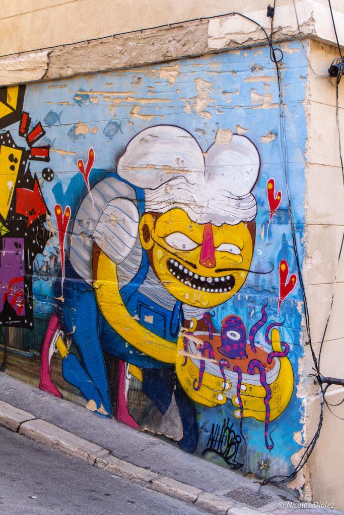 srtreet art Le panier Marseille