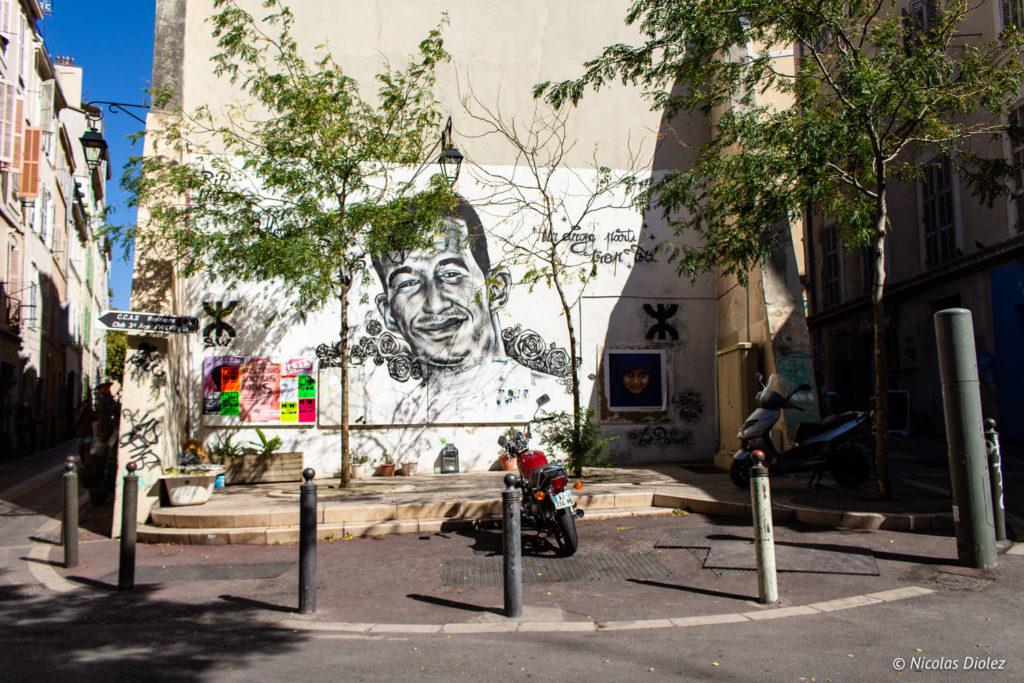 street art Le panier Marseille