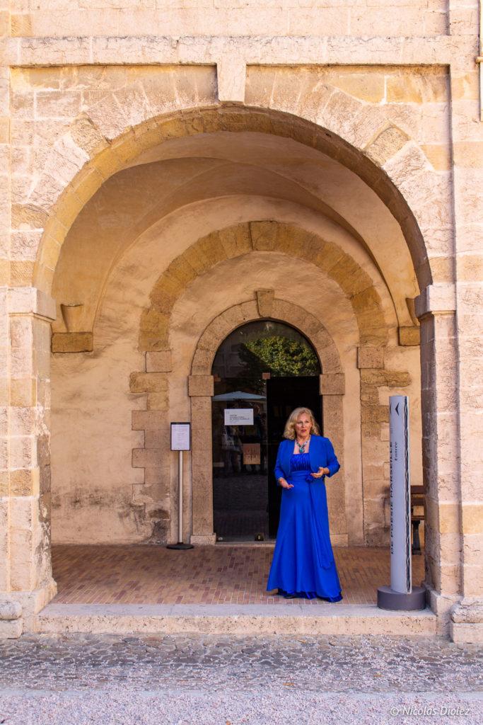 Cantatrice La Vieille Charité le panier Marseille