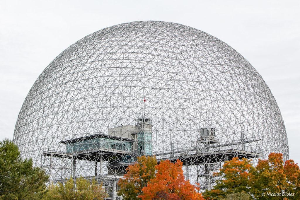 Biosphère Montréal - DR Nicolas Diolez 2018