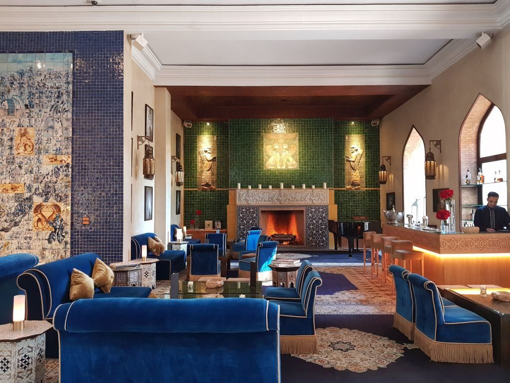 Lobby Bar Es Saadi Marrakech Resort - DR Melle Bon Plan 2018