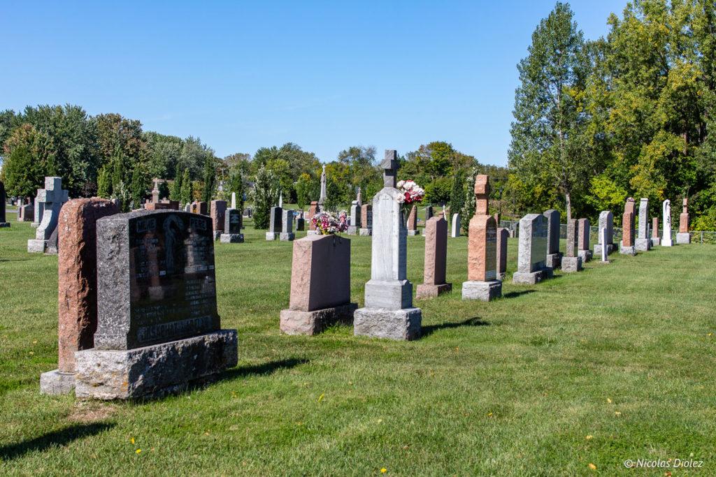 cimetière Saint-Eustache Laurentides Québec