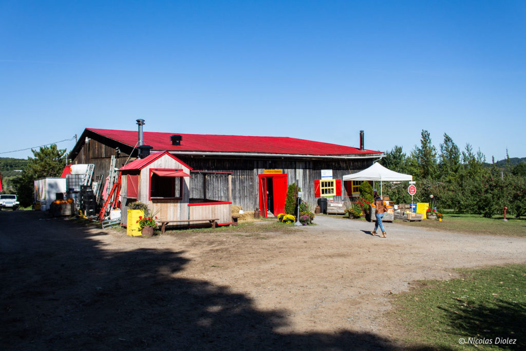 Labonté de la pomme Laurentides Québec