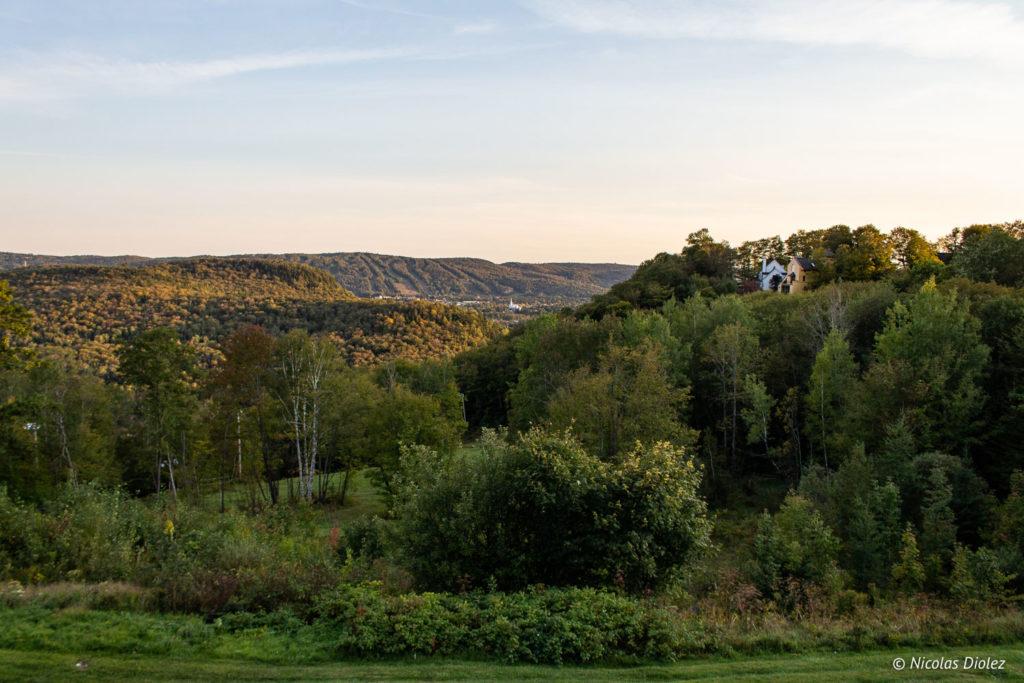 Mont-Gabriel Laurentides Québec