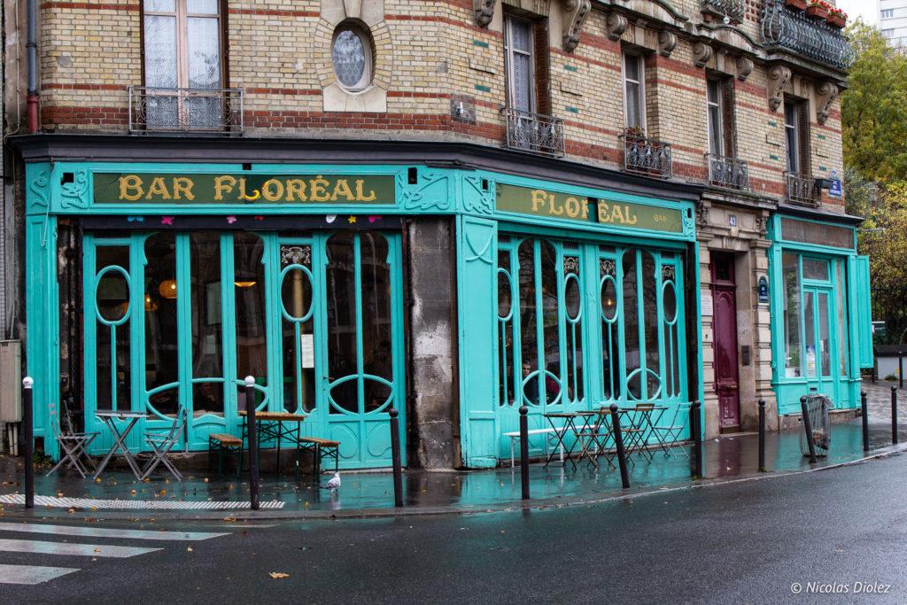 Facade Floréal Belleville Paris