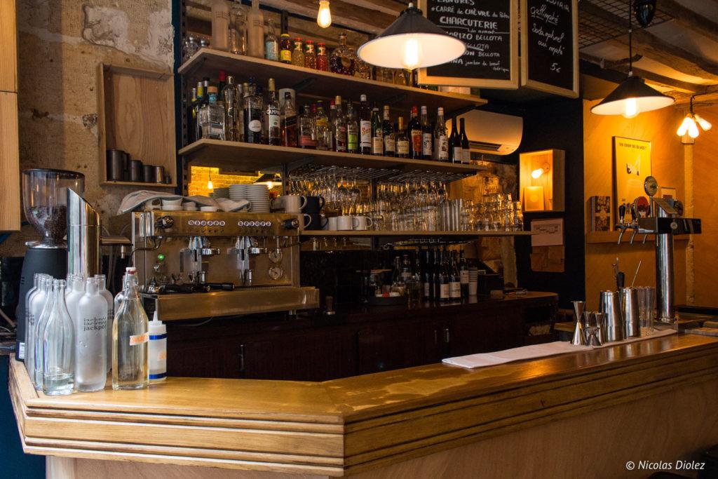 Restaurant Le Jackpot Paris - DR Nicolas Diolez 2018
