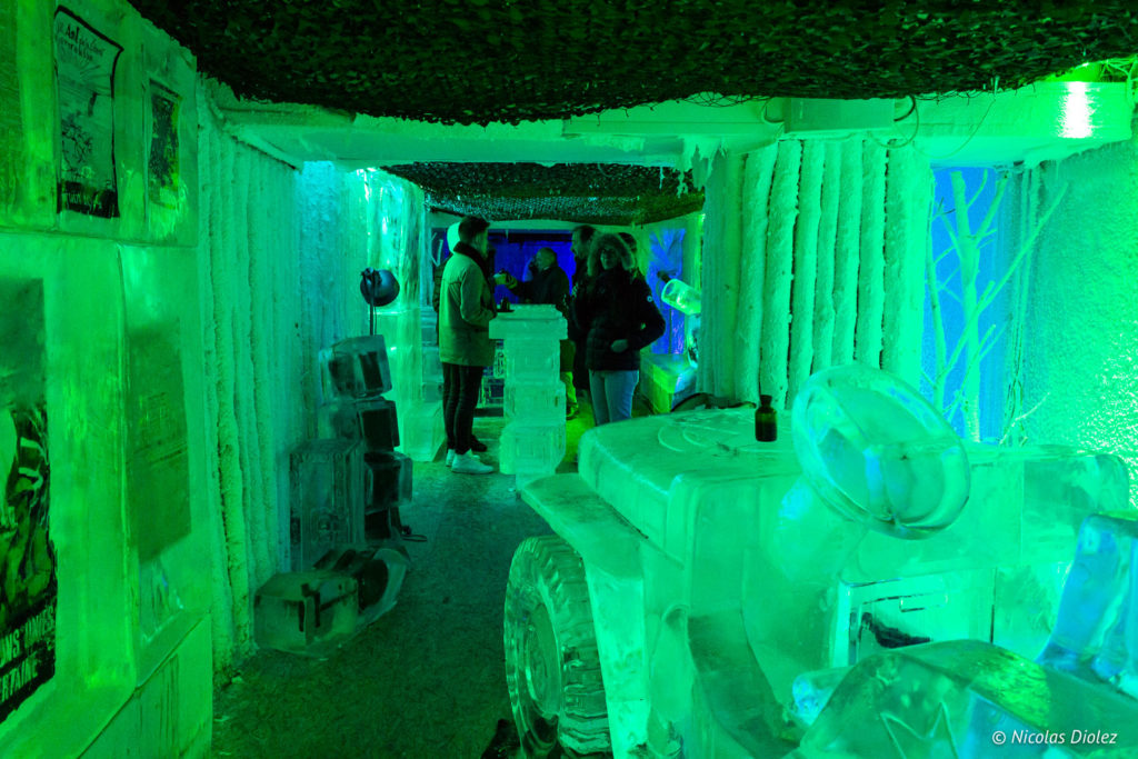 Ice Bar Kube Hôtel Paris