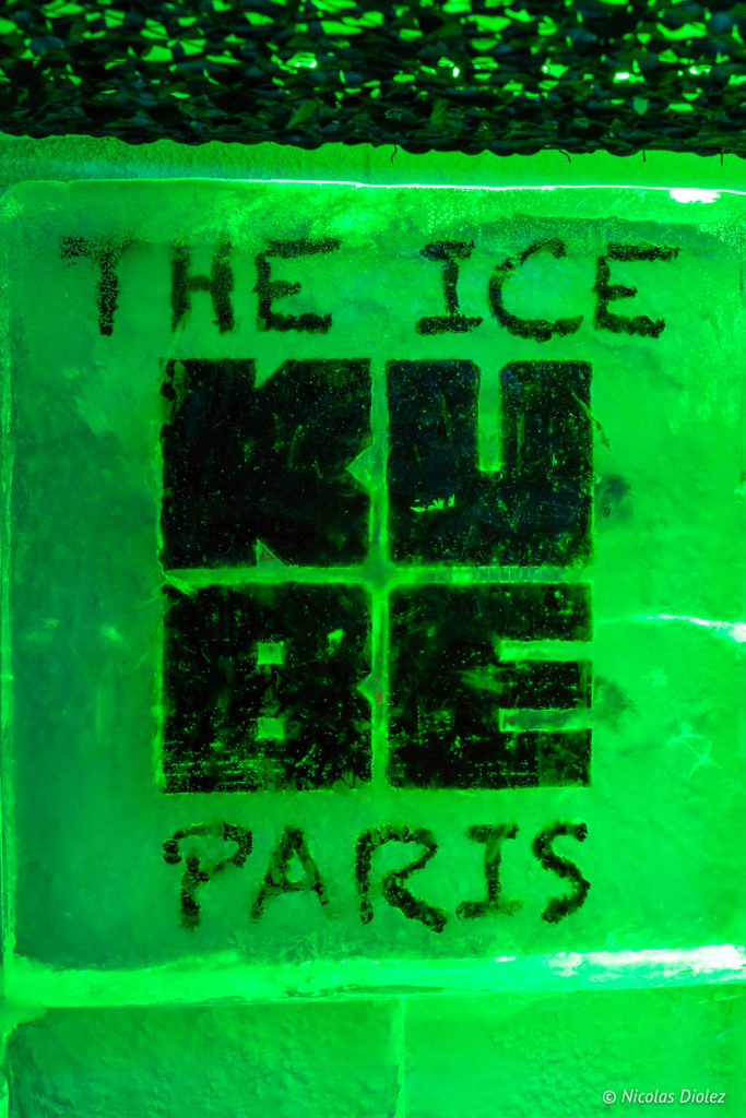 Ice Bar Kube Hôtel Paris - DR Nicolas Diolez 2018
