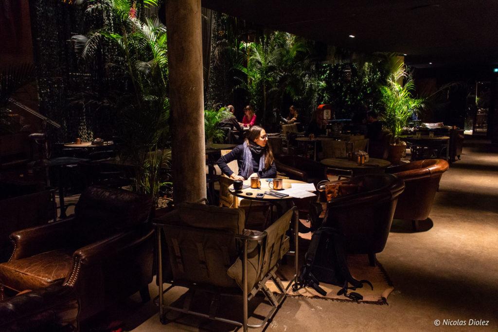 restaurant Kube Hôtel Paris