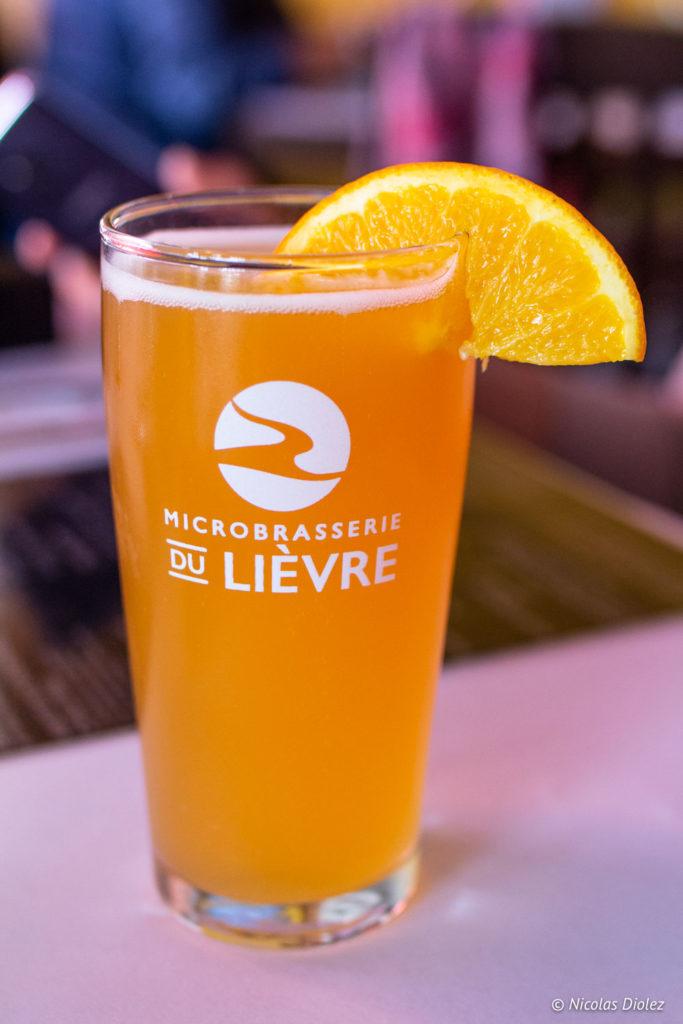 Microbrasserie du Lièvre Laurentides Québec