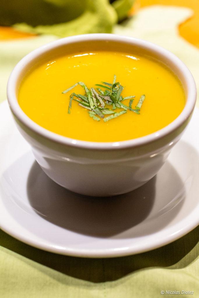 soupe Gîte Le Provincialart Laurentides Québec