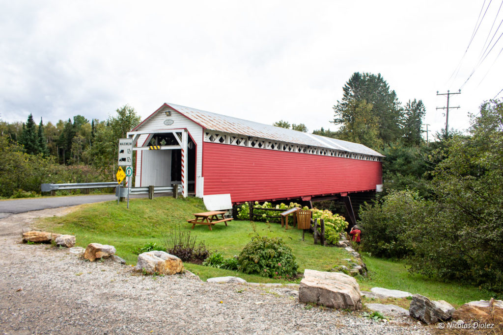 Pont couvert Macaza Laurentides Québec - DR Nicolas Diolez 2018