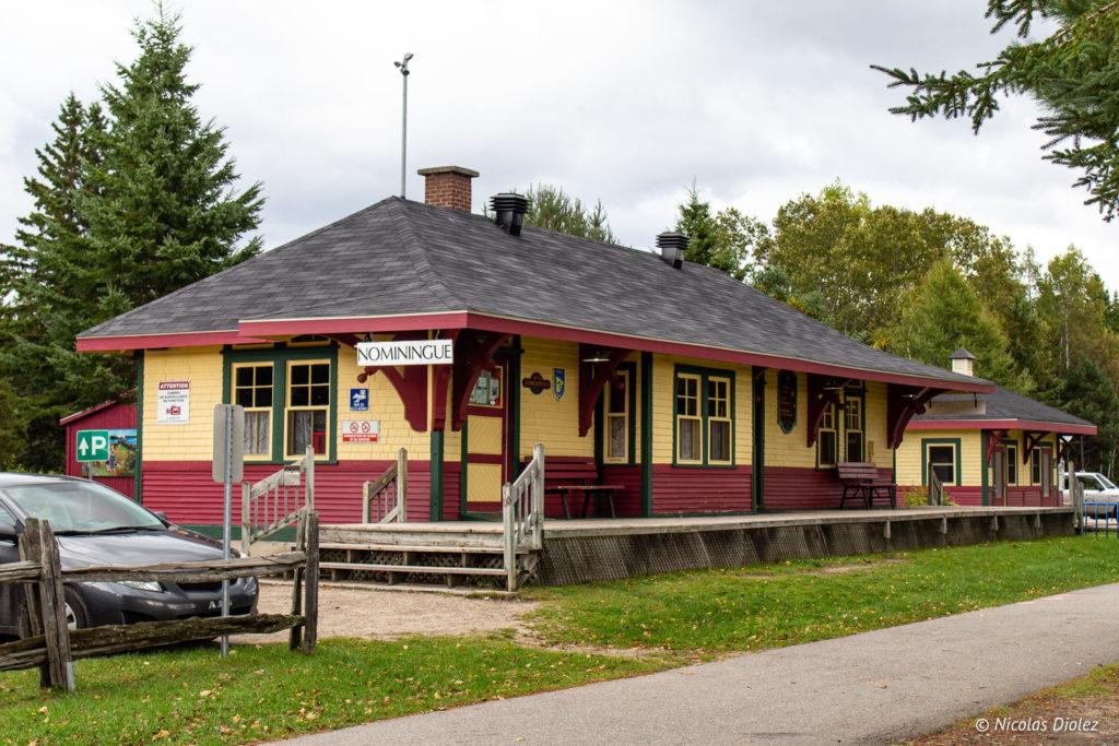 Gare Nominingue Laurentides Québec