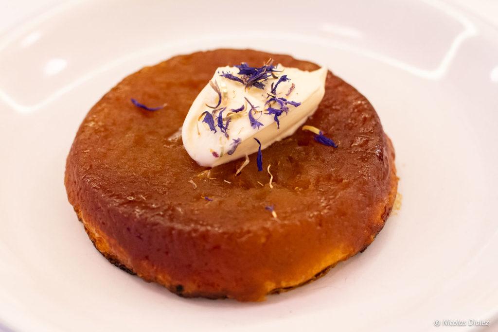 dessert Restaurant Lorette et les Garçons Paris