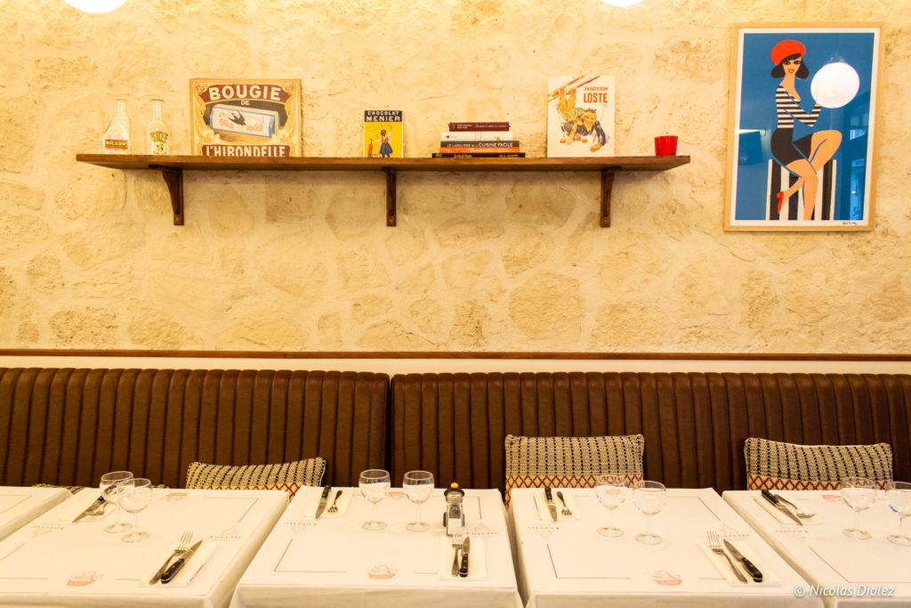 Restaurant Lorette et les Garçons Paris