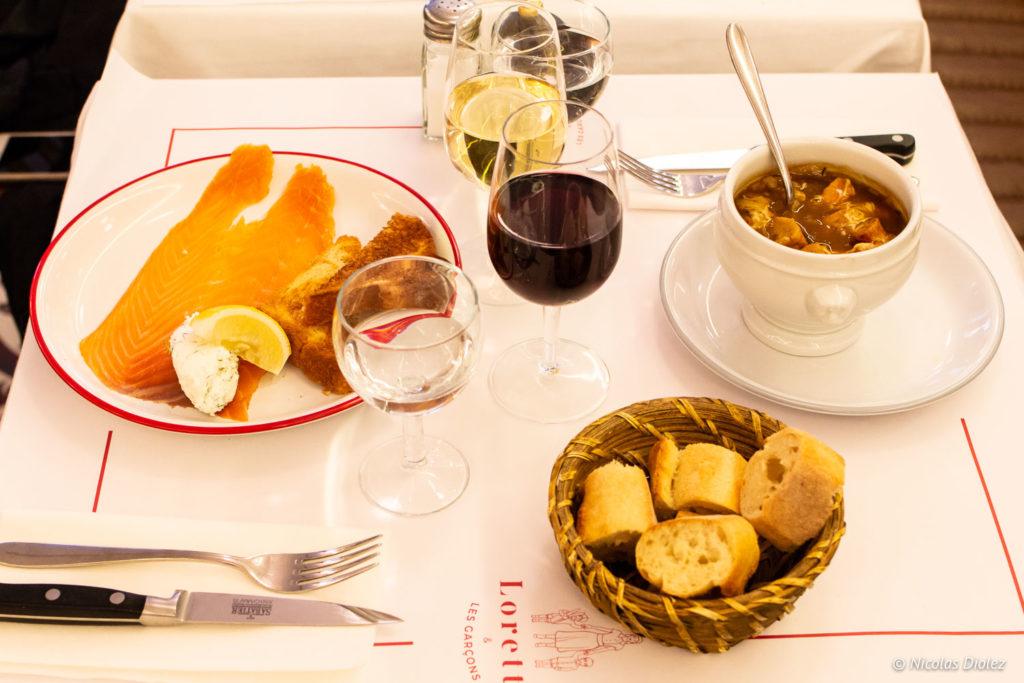 Restaurant Lorette et les Garçons Paris - DR Nicolas Diolez 2018