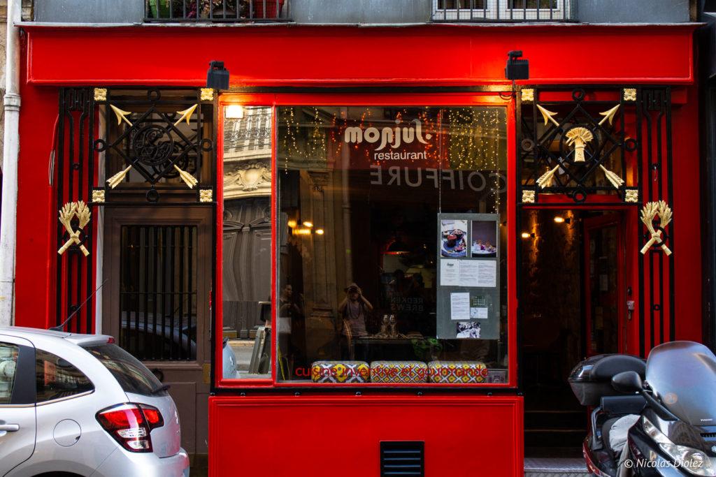 façade Restaurant Monjul Paris
