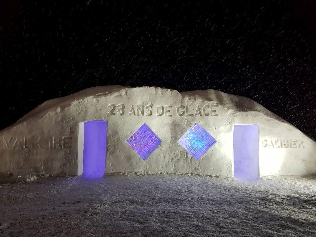 Sculptures sur glace Valloire - DR Melle Bon Plan 2019