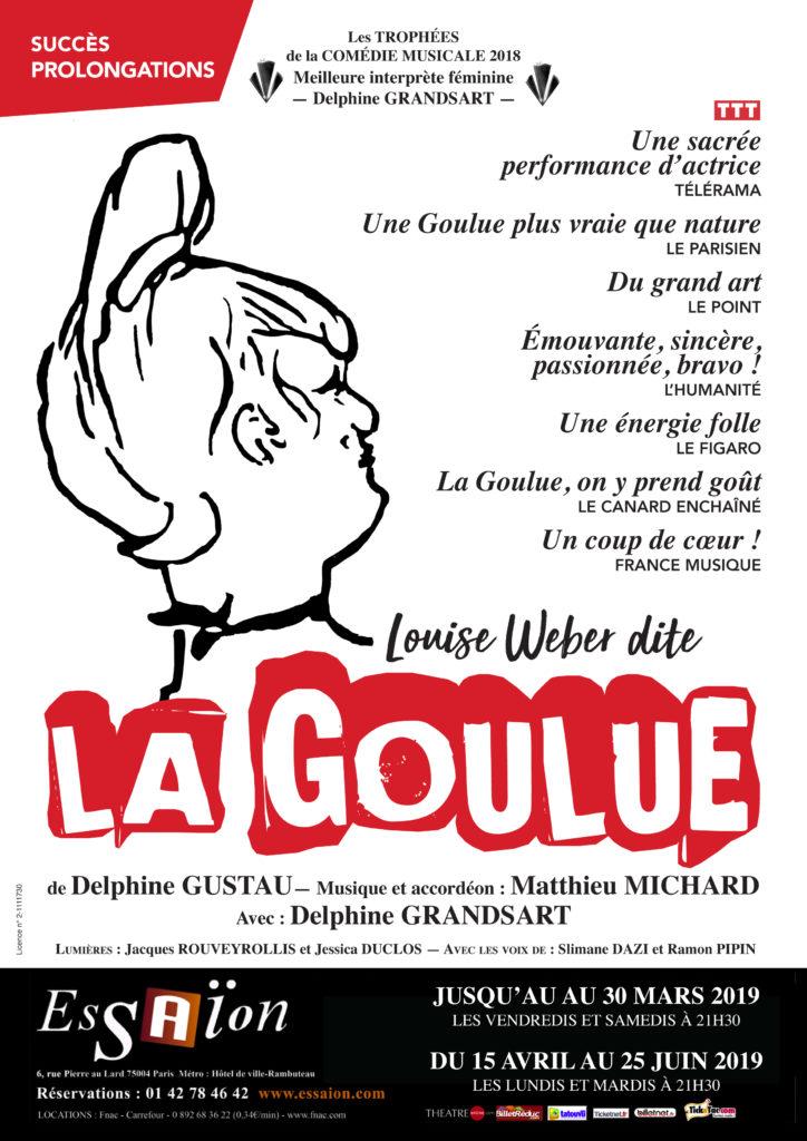 Affiche La Goulue