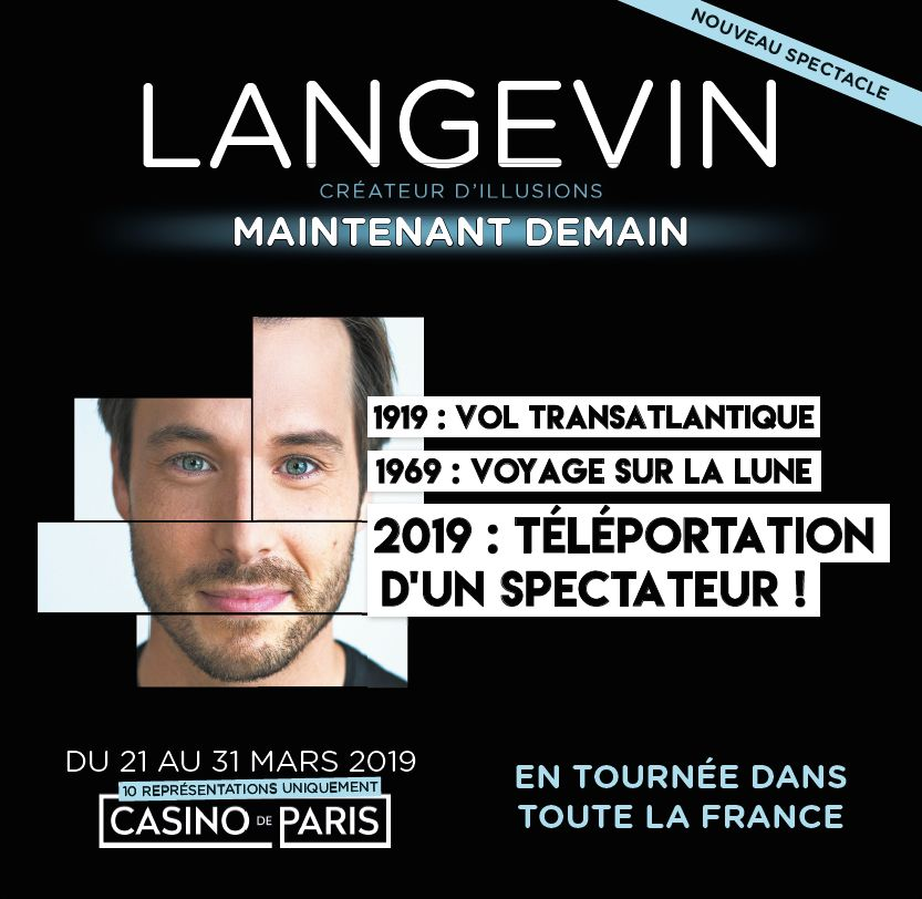 Langevin Casino de Paris 2019