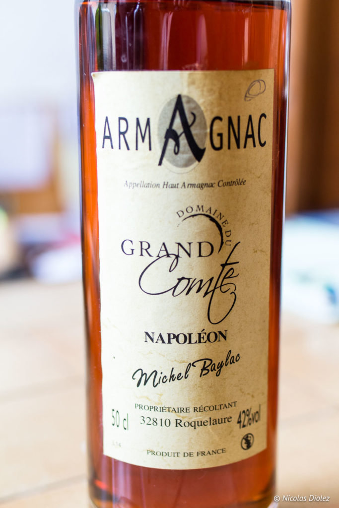 Armagnac Domaine Grand Comté Gers