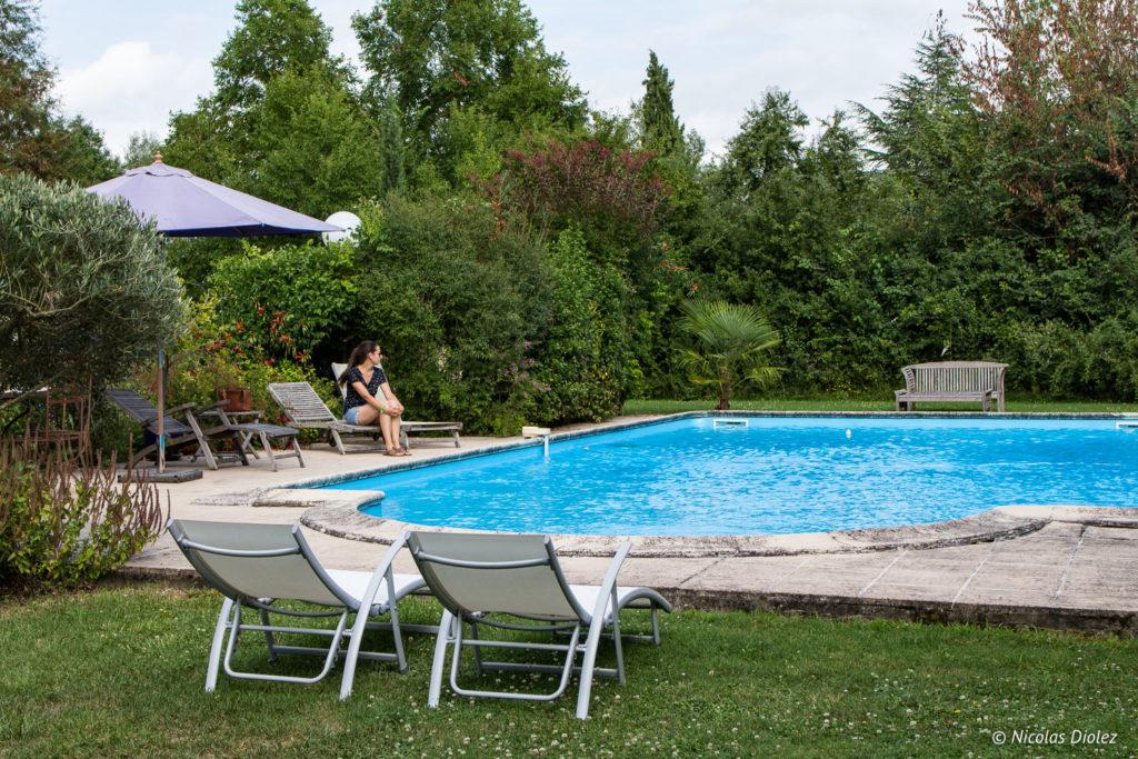 piscine Domaine de Mascara Gers