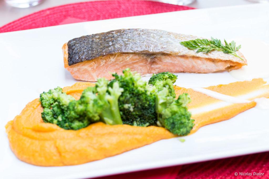 saumon restaurant l'Échappée Belle Gers