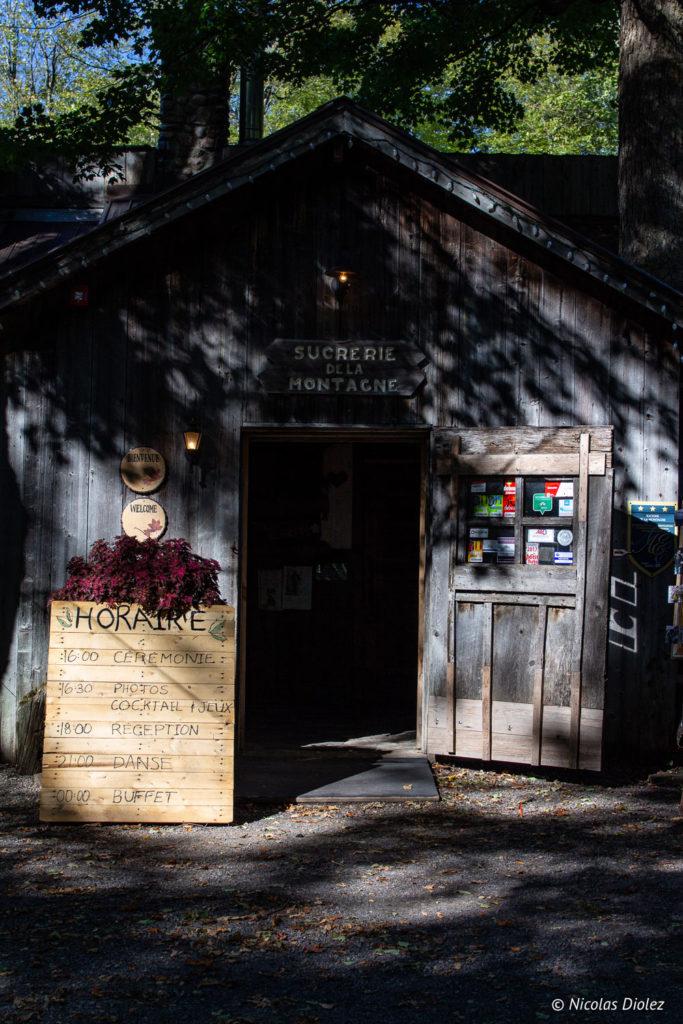 Sucrerie de la Montagne Laurentides Québec