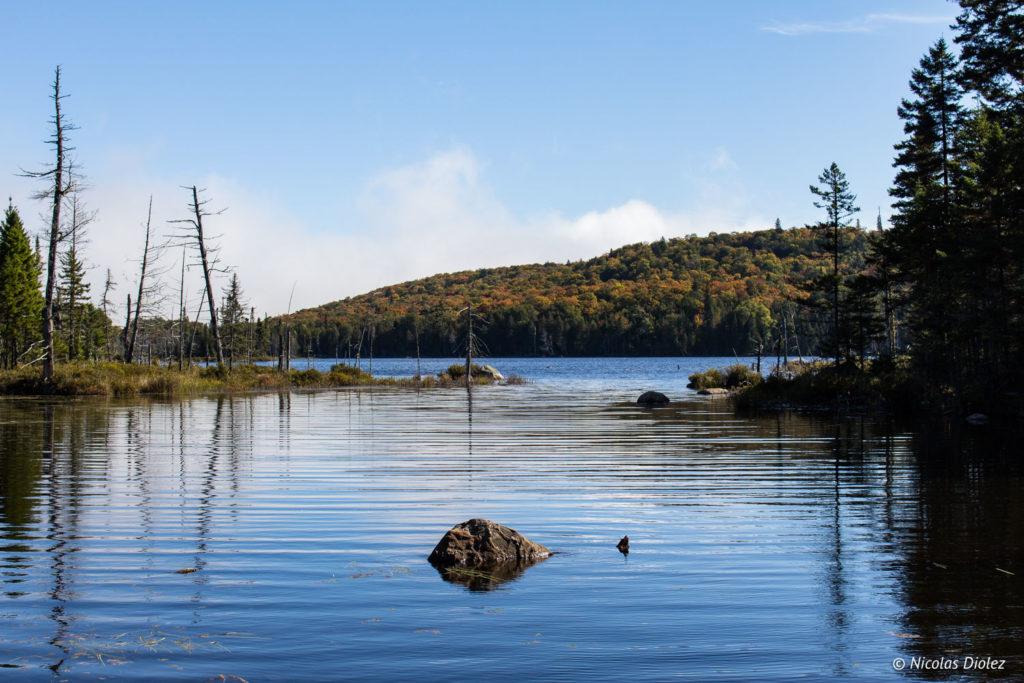 Parc Montagne du Diable Laurentides Québec