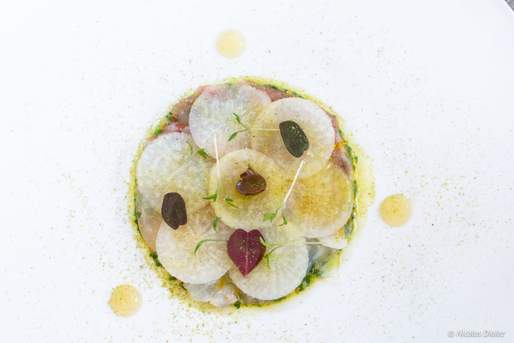 Carpaccio restaurant Lumen Paris