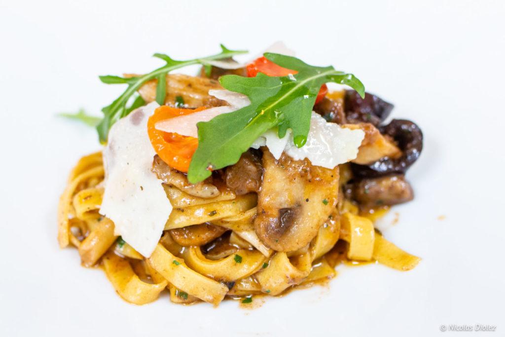 Tagliolini restaurant Lumen Paris