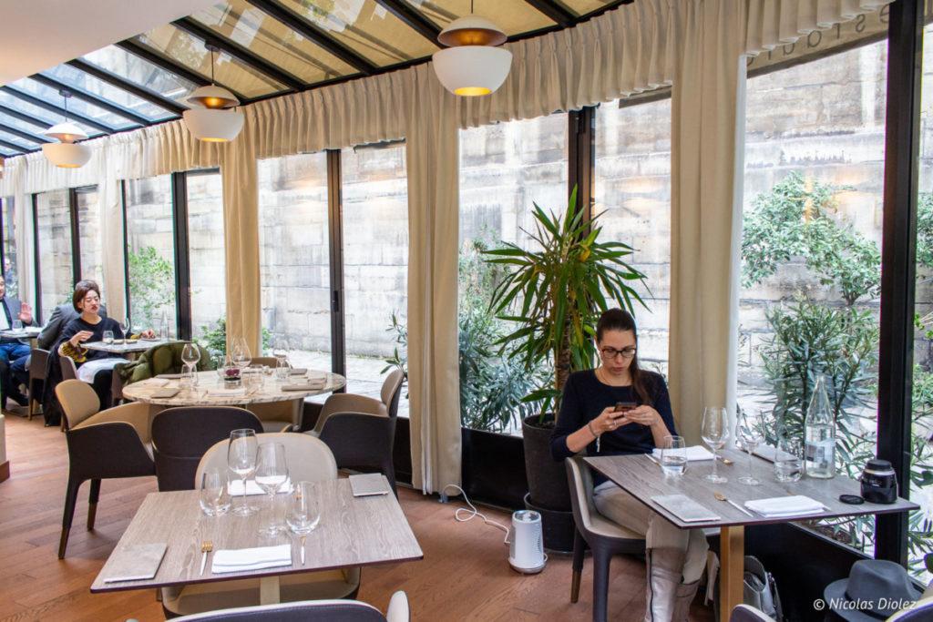 Salle restaurant Lumen Paris