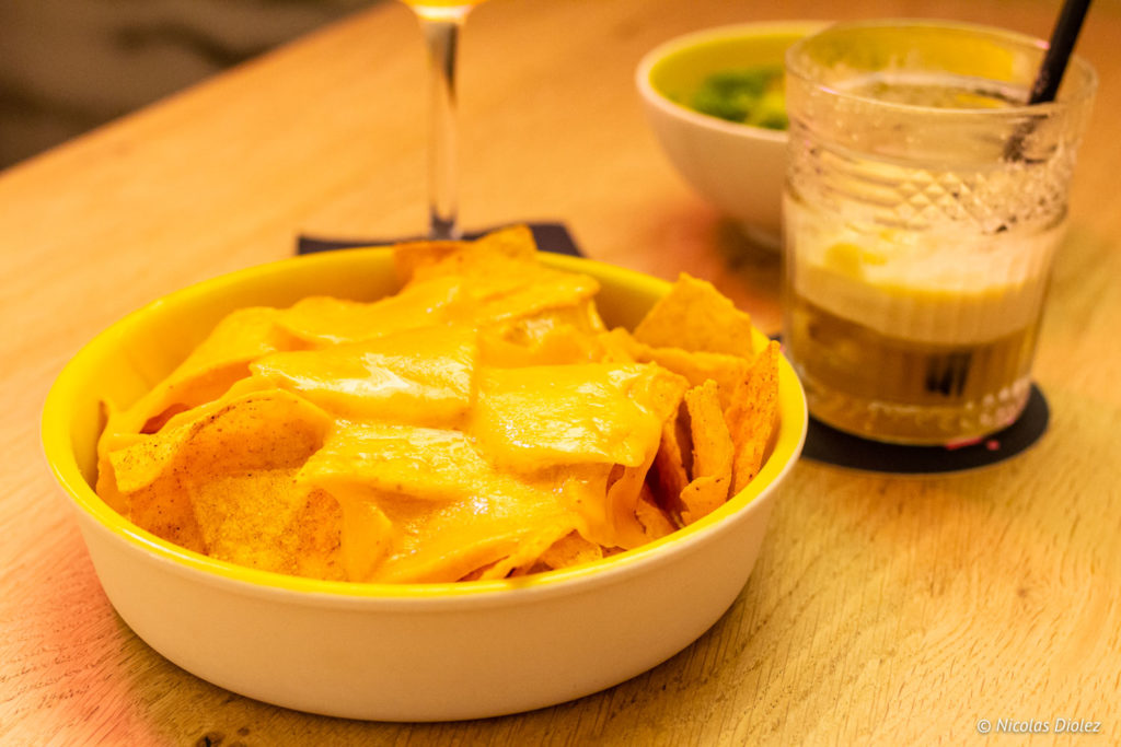 Nachos Royal au Bar Hôtel Royal Madeleine Paris
