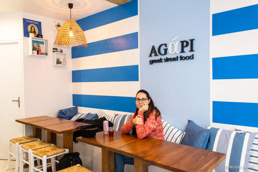 Agapi Greek street food Paris