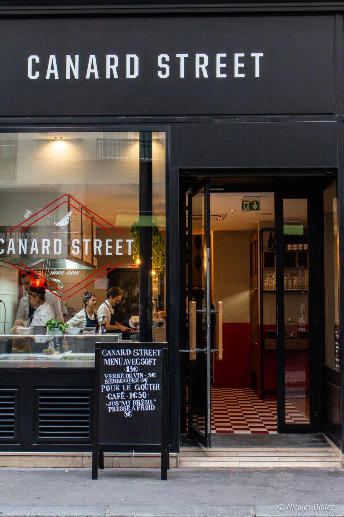 Canard Street Paris - DR Nicolas Diolez 2018