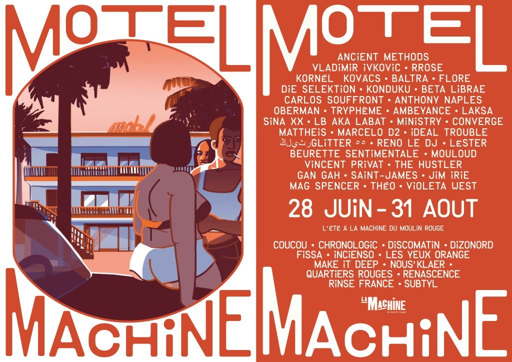 AFFICHE Motel Machine