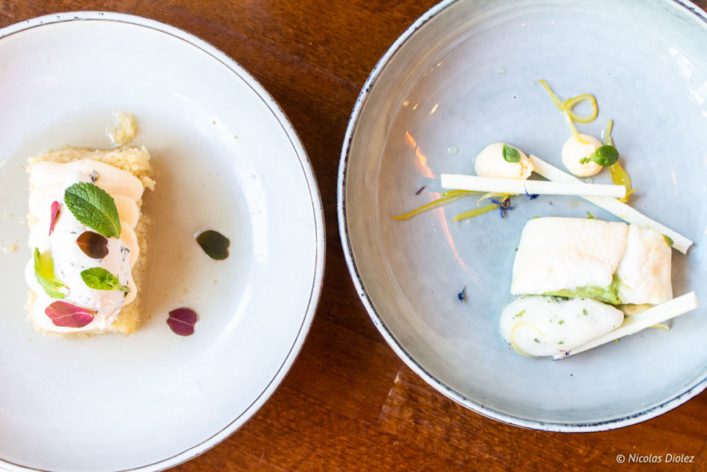 desserts Le Bistrot de Madeleine Paris