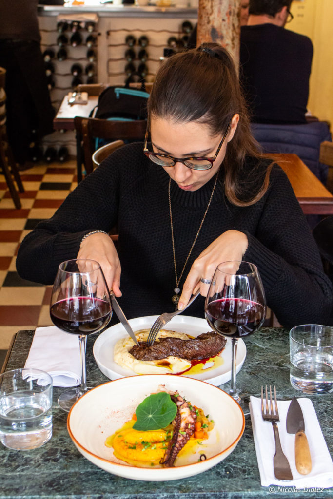 restaurant Le Bon, la Butte Paris - DR Nicolas Diolez 2019