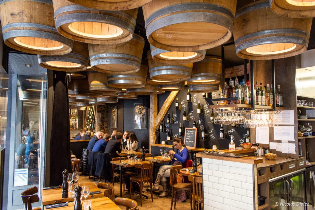 Restaurant les Fines Lames Paris - DR Nicolas Diolez 2019