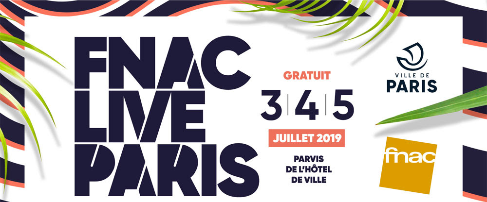 Fnac Live Paris 2019
